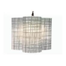 INDA Clover Cordless LED Hanging Lamp/Shade - Weave Shade