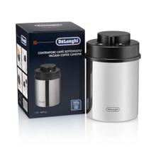See Details - Coffee Canister, Manual Vacuum Sealed Storage Container, Stainless Steel (Holds 1 LB / 500 g) - DLSC063