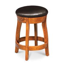 """See Details - Clayton Swivel Barstool, 30"""" Seat Height / Fabric Cushion Seat"""