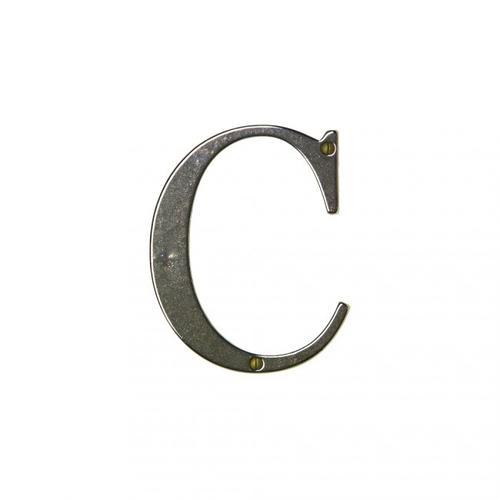 "Rocky Mountain Hardware - 4"" House Letter - L400C Silicon Bronze Dark"