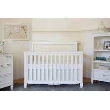 Warm White Darlington 4-in-1 Convertible Crib