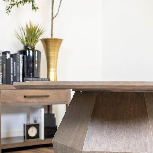 """Alder & Tweed - Baylor 60"""" Round Dining Table"""