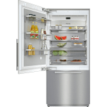 MieleKF 2911 SF - MasterCool(TM) fridge-freezer For high-end design and technology on a large scale.