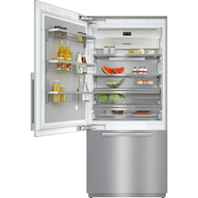 KF 2911 SF - MasterCool™ fridge-freezer For high-end design and technology on a large scale.