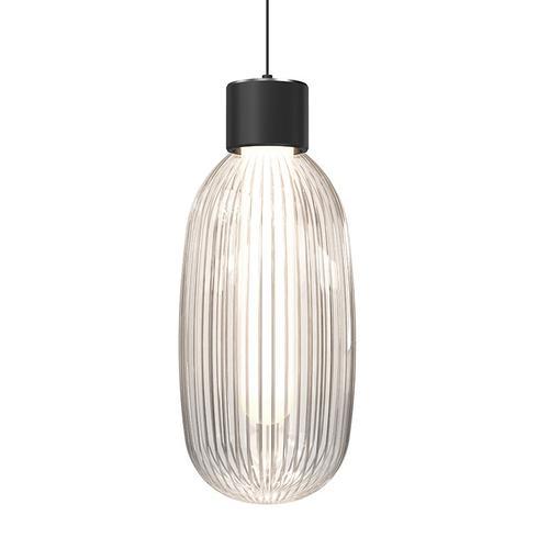 Sonneman - A Way of Light - Friso LED Pendant [Size=1-Light, Color/Finish=Satin Black]