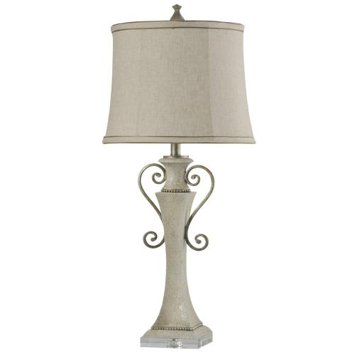 Product Image - L313610  Neihart  Traditional Metal & Resin Table Lamp with Clear Acrylic Base