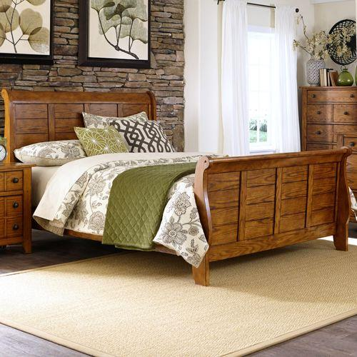 Liberty Furniture Industries - King California Sleigh Bed