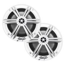 "Product Image - Marine / Powersports 6.5"" White Coaxial Marine Speakers"