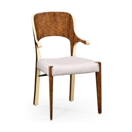 Hyedua wood armchair