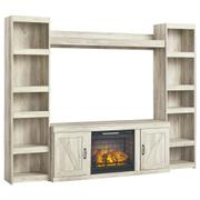 Bellaby 4-piece Entertainment Center With Electric Fireplace Product Image