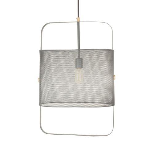 Tov Furniture - Klaus Large Grey Pendant