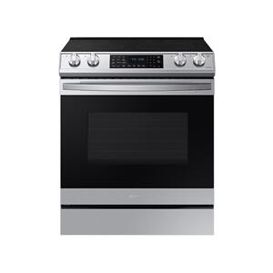 Samsung Appliances6.3 cu. ft. Front Control Slide-in Electric Range with Air Fry & Wi-Fi in Stainless Steel