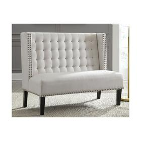 See Details - Accent Bench Beauland Ivory