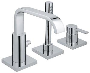Allure Roman Bathtub Faucet with Hand Shower Product Image