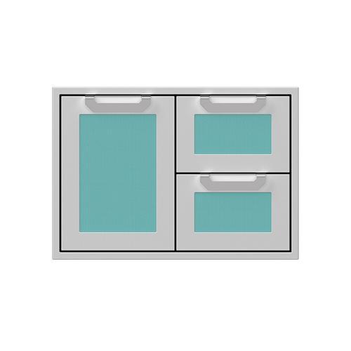 """Hestan - 30"""" Hestan Outdoor Combo Door/Drawer - AGSDR Series - Bora-bora"""