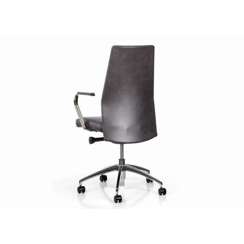 Blade Fully Upholstered Swivel Tilt Chair