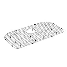 "Moen Stainless D Shape Rear Drain Bottom Grid Accessory fits 29"" x 16"" Sink Bowls"