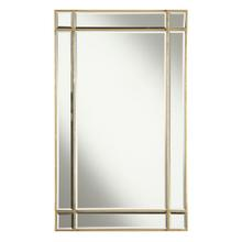 Florentine 22 in. Traditional Mirror in Gold leaf