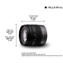 H-FS014045 LUMIX Interchangeable lenses