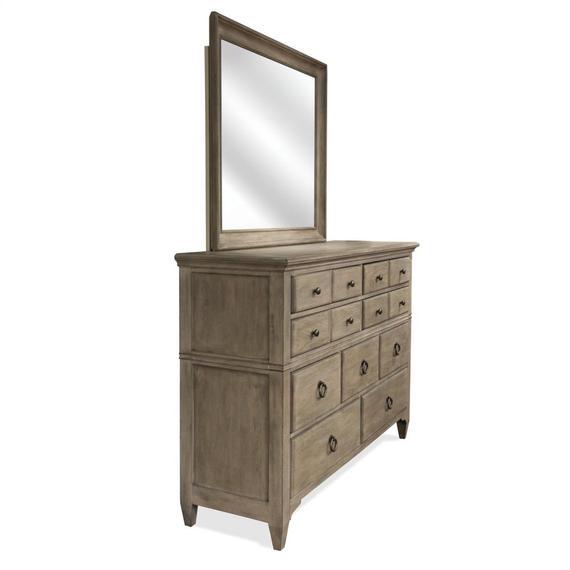 Riverside - Myra - Nine Drawer Dresser - Natural Finish