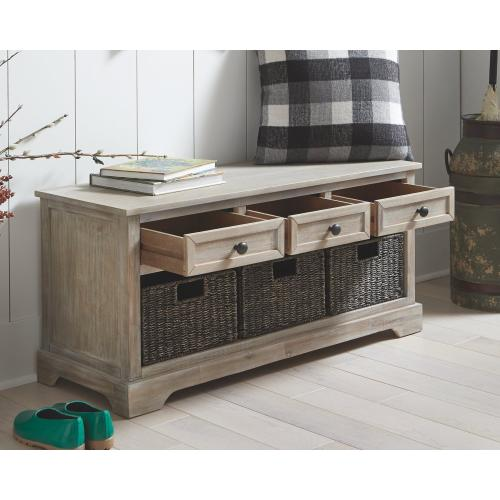 Oslember Storage Bench