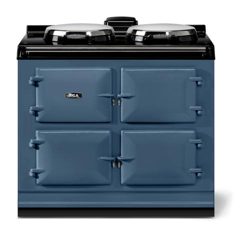 "AGA - AGA classic 39"" Dual Control Electric/Gas Model, Dartmouth Blue"