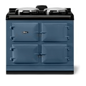"""AGA classic 39"""" Dual Control Electric-Only Model, Dartmouth Blue"""