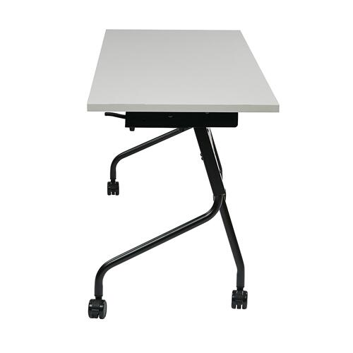 """Office Star - 4"""" Black Frame With Grey Top"""