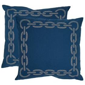 Sibine Pillow - Navy / Blue