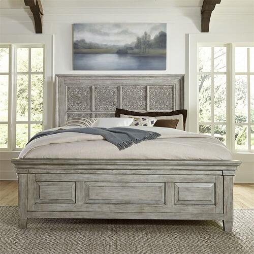 Optional King Panel Bed