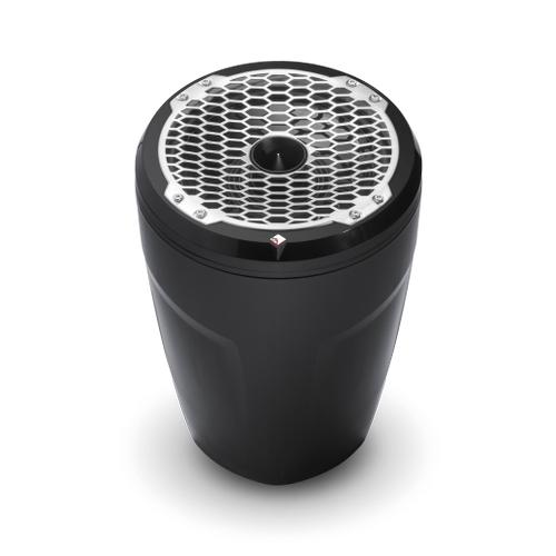 """Rockford Fosgate - Punch Marine 8"""" Wakeboard Tower Speaker - Horn Tweeter - Black"""