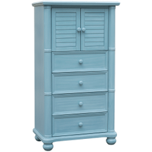 Beachfront Blue Gentleman Chest