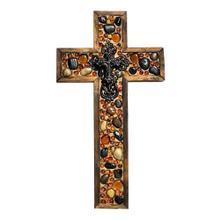 Tan/black Medium Cross