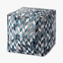 PF0004 Grey / Multi Poufs
