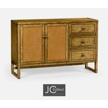 Light Brown Chestnut Buffet Cabinet