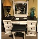 White Vanity W/Mirror Product Image