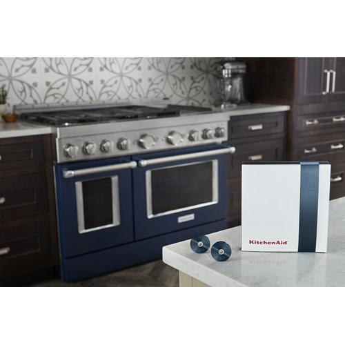 KitchenAid® Commercial-Style Range Handle Medallion Kit - Dark Blue