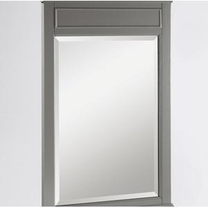 "Fairmont Designs - Smithfield 24"" Mirror - Medium Gray"