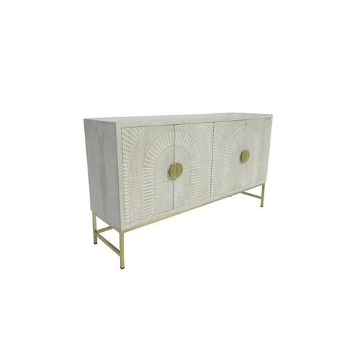 Surya 4 Door Sideboard, 2613O