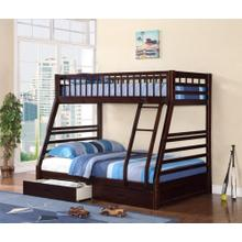 7588 ESPRESSO Mission Bunk Bed