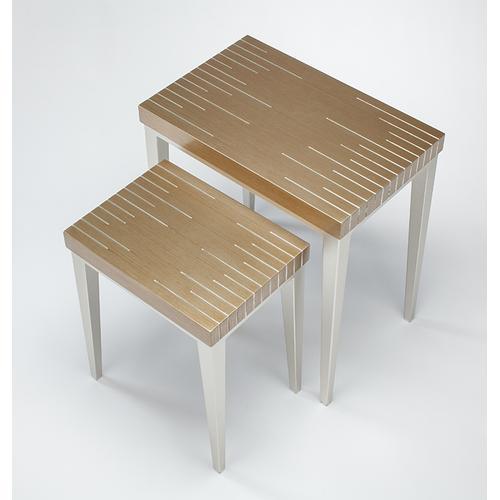 "Artmax - Nesting Table - Set of 2 22x14x23.5"" & 16x12x19"""