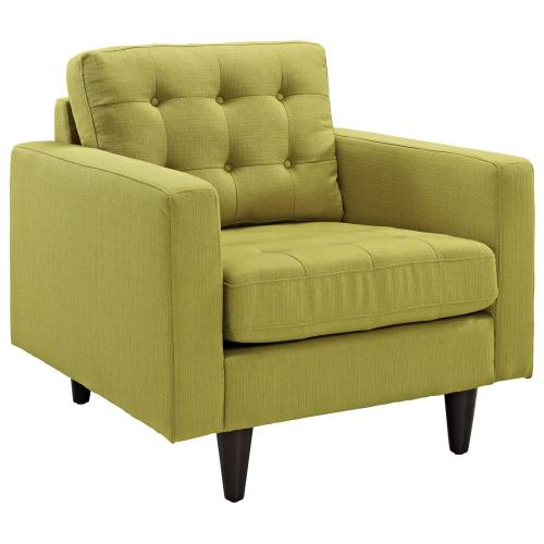 Empress Armchair and Sofa Set of 2 in Wheatgrass