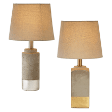 Accent Lamp with Metallic Stripe (2 asstd). 60W Max.