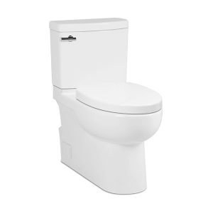 White MALIBU II Two-Piece Toilet, Rear Outlet Product Image