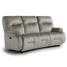 BRINLEY COLL. Power Reclining Sofa and Matching Loveseat (Charcoal)