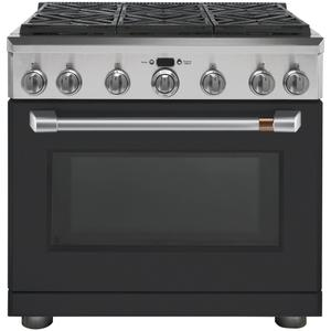 "Cafe36"" All-Gas Professional Range with 6 Burners (Natural Gas)"