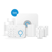 Alarm Security Kit, 10-Piece (for 1st Generation) - White: *Ring Alarm and the professional monitoring service are available and ship only within the U