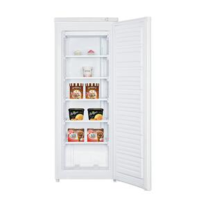 5.8 Cu. Ft. Vertical Freezer - White