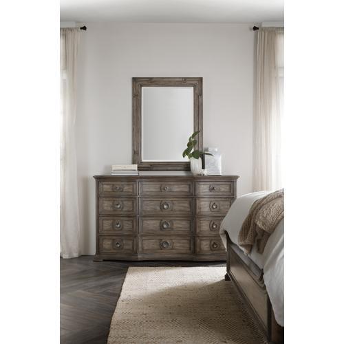 Woodlands Twelve-Drawer Dresser