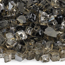 "See Details - 1/4"" Bronze Reflective, 10 Lb. Jar Fire Glass"